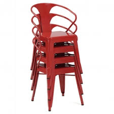 Industrial Metal Kitchen Chairs Metal Dining Chairs Foter