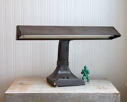 vintage lighting industrial desk lamp 1950s brown gentlemint