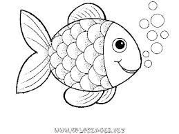 coloring pages about fish coloring page fish preschool rainbow fish coloring sheet to print