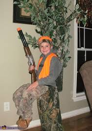 Zombie Hunter Costume Hunter In A Tree Stand Diy Illusion Halloween Costume