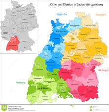 Map Of Germany With Cities by State Of Germany Baden Wurttemberg Stock Photography Image