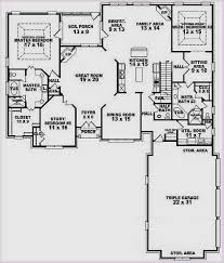 contemporary house plans with two master suites on first floor