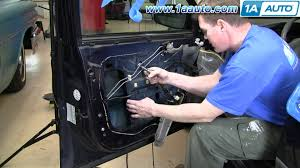 how to install repair replace power window regulator chevy impala