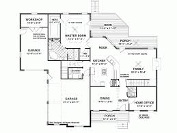 hillside floor plans eplans craftsman house plan stunning hillside home 2493 square