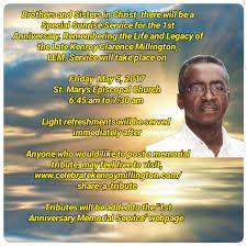 memorial tributes 1st anniversary memorial service
