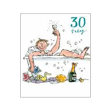 30th birthday delivery let s celebrate 30th birthday card quentin same