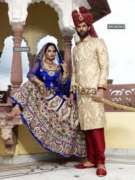 Indian Wedding Dress For Groom Wedding Combo A Stunning Combination Of Bride And Groom Attire