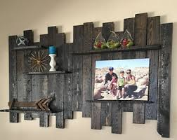smartness inspiration distressed wood wall shelves creative design