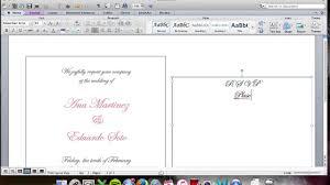 wedding inserts diy wedding invitation inserts