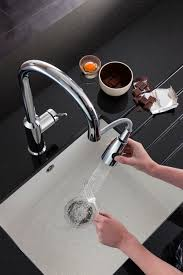 cucina kitchen faucets cucina cook side lever kitchen mixer tap with pull out spray from