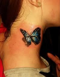 3d butterfly on side neck golfian com