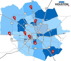 Texas Map Picture Map To Locate All The Outlets U0026 Malls In Houston Tx