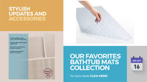 our favorites bathtub mats collection stylish updates and