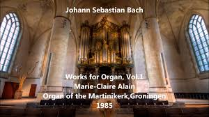 js bach works for organ vol 1 alain organ of the
