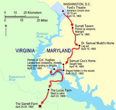John Wilkes Booth Escape Route Tour Surratt House Museum