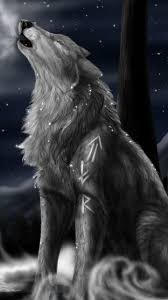 howling wolf galaxy s3 wallpaper 720x1280