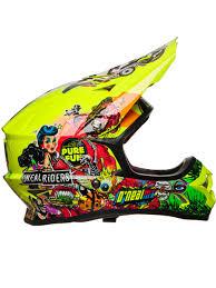 yellow motocross helmets oneal neon yellow 2018 3series crank mx helmet oneal