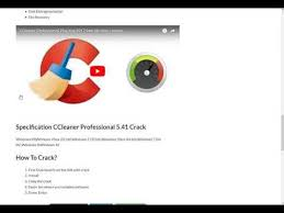 ccleaner serial key ccleaner professional 5 41 crack with serial key full free download