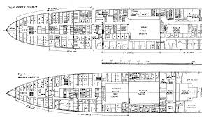 Floor Plan Blueprint Titanic Plans