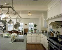 kitchen island with hanging pot rack kitchen room wonderful retractable pot rack saucepan rack
