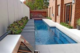 Narrow Backyard Ideas Triyae Com U003d Backyard Designs With Pools For Small Backyards