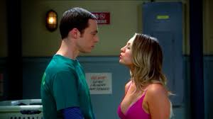 penny tbbt image sheldon penny kiss jpg the big bang theory wiki fandom