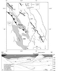 Norcia Italy Map by Earthquake Fault Plane Solutions And Patterns Of Seismicity Within