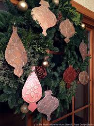 100 best diy christmas decor stencil ideas images on pinterest