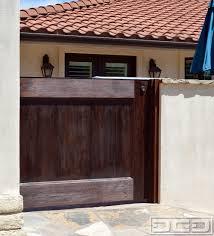 spanish mediterranean garage doors u0026 matching garden gates