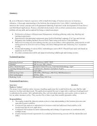 resume business analyst banking domain concepts resume business analyst