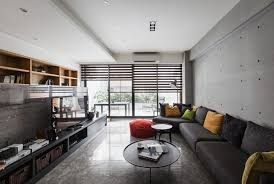 Smart Decoration Of Contemporary Apartment Design Applying - Japanese apartment interior design