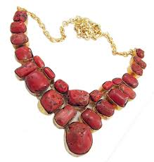 coral necklace silver images Cheap silver coral necklace find silver coral necklace deals on jpg