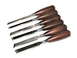 ibc skew chisels with walnut handle ibc industrial blade company