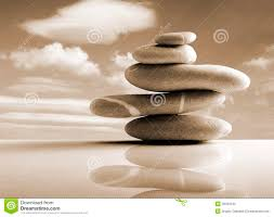 stones pile zen style sepia color stock photo image 39432242