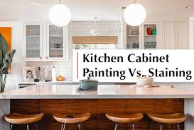 refinishing kitchen cabinets san diego kitchen cabinet painting vs staining in san diego peek