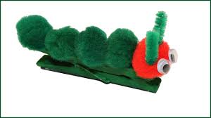 hungry caterpillar clothespin craft youtube