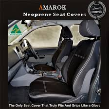 Car Seat Covers Melbourne Cheap Volkswagen Amarok Snug Fit Seat Covers Front Pair 189 2017 Model