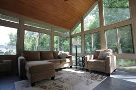 furniture wood ceilings and transom with window treatment also