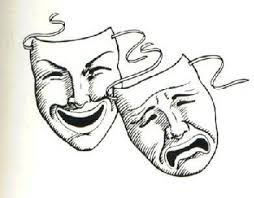 drama masks tattoo designs photos pictures and sketches