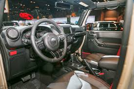 Jeep Wrangler Interior 2017 Jeep Wrangler Rubicon Recon Is The Most Off Road Ready Jk