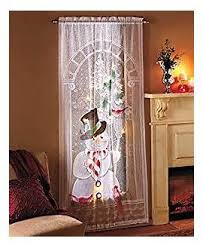gold or white lights lighted curtain panel