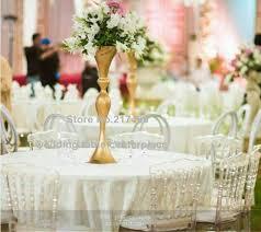 Cheap Gold Centerpieces by Online Get Cheap Gold Centerpiece Vases Aliexpress Com Alibaba