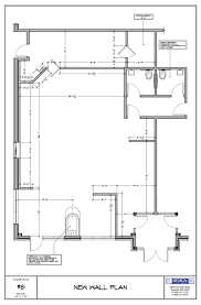 house plan floor study of the coffee shop interior design for