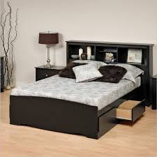 Queen Headboard With Shelves by Platform Bed With Storage Queen Ideas Advice For Your Home