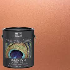 modern masters 1 gal copper penny metallic interior paint