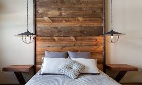 minimal bedrooms rustic wood headboard bedroom ideas rustic