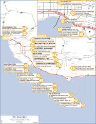 Carpinteria State Beach Campground Map by Southern California