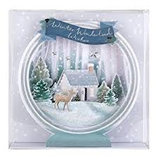 3d christmas cards hallmark luxury 3d christmas card pack winter 5 cards