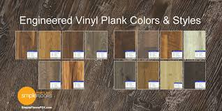 what color of vinyl plank flooring goes with honey oak cabinets what s engineered vinyl plank wood floor lvt and evp
