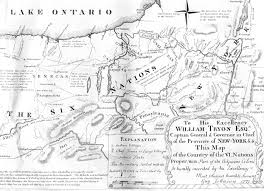 Maps Of New York State by 1771 Map Of New York State By Guy Johnson
